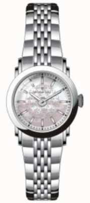 Dreyfuss Mãe de madrepérola relógio de aço inoxidável DLB00047/07