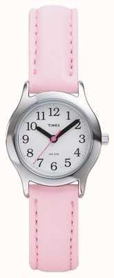 Timex Relógio de pulseira rosa feminino / infantil T790814