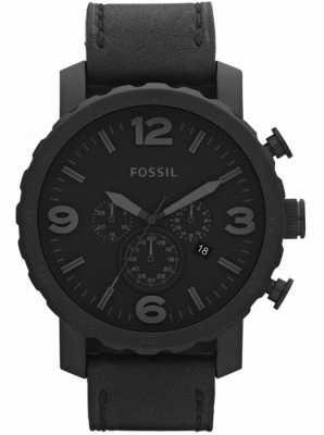 Fossil Mens preto cronógrafo x-grande relógio JR1354
