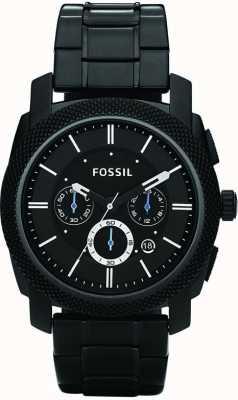 Fossil Relógio pulseira cronógrafo preto para homens FS4552