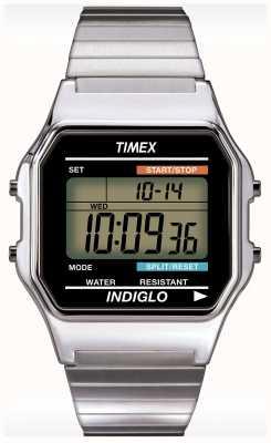 Timex Relógio de cronógrafo do indiglo de Gent T78587