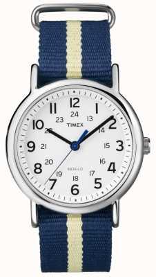 Timex Relógio unissex indiglo weekender T2P142