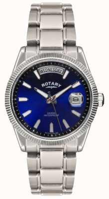 Rotary Bracelete de aço inoxidável de Gent em forma de havana GB02660/05