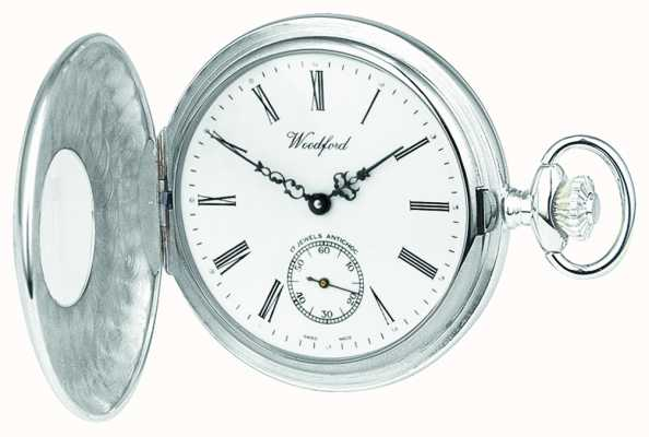 Woodford Silver 1/2 hunter pocketwatch 1067
