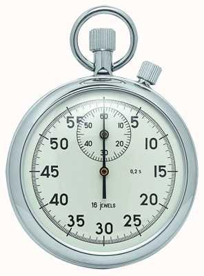 Woodford Cronômetro mecânico de marcação branca cromada 1041