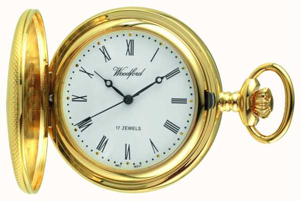 Woodford Relógio de bolso mecânico para homens 1056