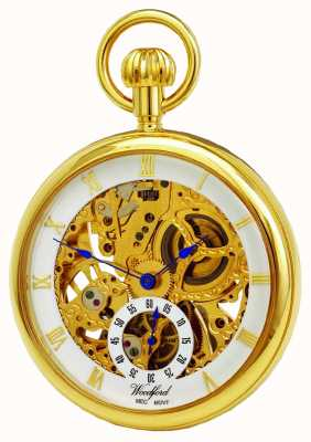Woodford Relógio de bolso de rosto aberto 1044