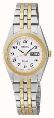 Seiko Relógio dia / data feminino SUT116P9