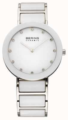 Bering Relógio de cerâmica e pulseira de metal 11435-754