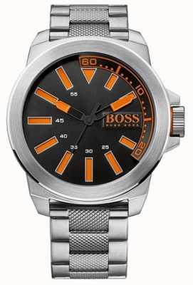 Hugo Boss Orange Relógio de New York nos homens 1513006