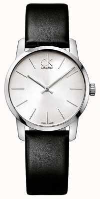 Calvin Klein Relógio da cidade das senhoras K2G231C6