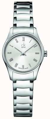 Calvin Klein Relógio feminino clássico K4D2314Z