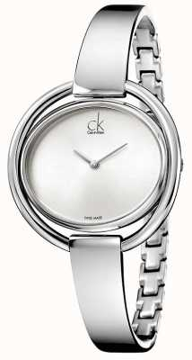 Calvin Klein Relógio feminino impetuoso K4F2N116