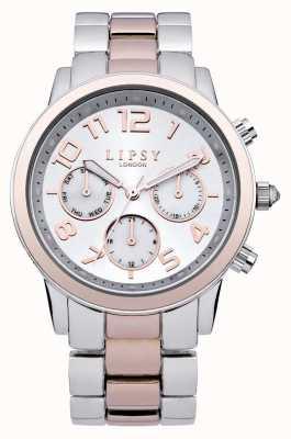 Lipsy Senhoras relógios de prata e ouro LP130