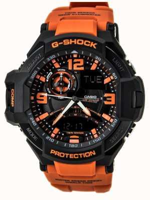 Casio G-shock mens cronógrafo relógio GA-1000-4AER