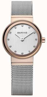 Bering Relógio clássico dourado de ouro dourado 10126-066
