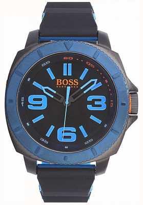 Hugo Boss Orange Relógio clássico para homens com mostrador preto 1513108