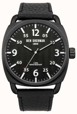 Ben Sherman Mens covent herringbone watch WB008B
