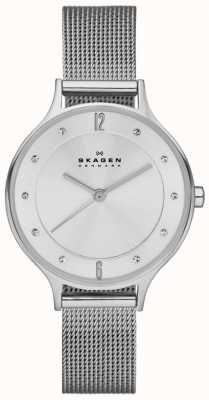 Skagen Ladies anita relógio de aço inoxidável pulseira SKW2149