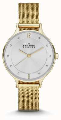 Skagen Relógio de pulseira de ouro anita anita SKW2150