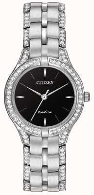 Citizen Relógio de eco-drive de silhueta feminina FE2060-53E