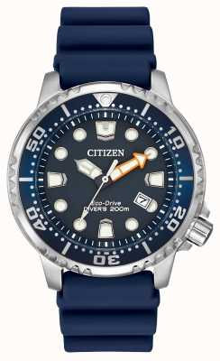 Citizen Promaster mergulhador profissional borracha azul BN0151-09L
