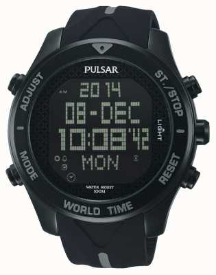 Pulsar Relógio de cronógrafo de alarme PQ2041X1