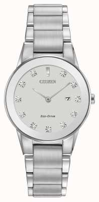 Citizen Womens axiom eco-drive stainless GA1050-51B