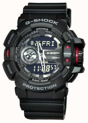 Casio Relógio cronógrafo preto g-shock para homem GA-400-1BER