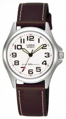 Lorus Relógio de couro RRS51LX9