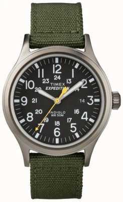 Timex Relógio de expedição para homens indiglo T49961