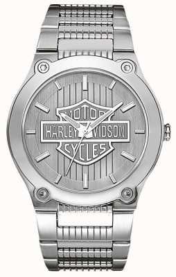 Harley Davidson Aço inoxidável com mãos luminosas 76A134