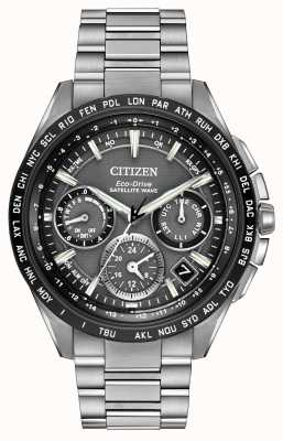 Citizen Mens f900 gps satélite wave chrono CC9015-71E