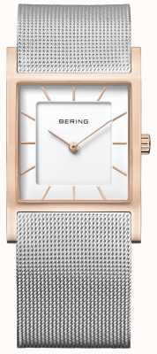 Bering Bracelete de malha de aço inoxidável para mulher 10426-066-S