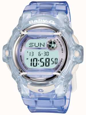 Casio Relógio digital Baby-g lilac / blue womens digital BG-169R-6ER