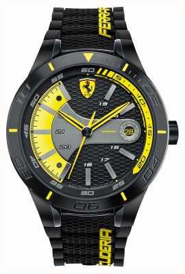 Scuderia Ferrari Vermelho rev evo preto silicone preto amarelo discagem 0830266