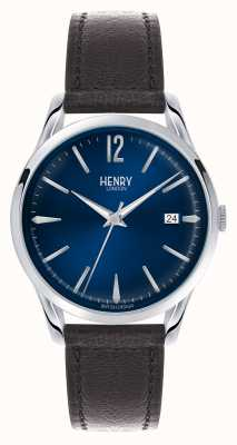 Henry London Disco azul Knightsbridge - como visto na TV HL39-S-0031