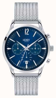 Henry London Knotsbridge em aço inoxidável cronômetro HL41-CM-0037