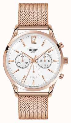 Henry London Unisex richmond rose gold pvd plated HL39-CM-0034