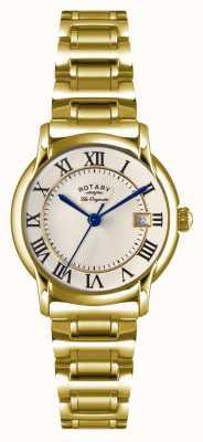 Rotary Placa de pvd de ouro para homens originais de Carviano LB90143/03