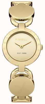 Fiorelli Mostrador de ouro pulseira de ouro das mulheres FO001GM