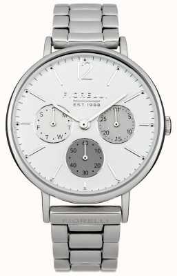 Fiorelli Mostrador branco pulseira de prata das mulheres FO002SM