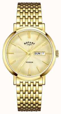 Rotary Dial ouro dourado banhado a ouro GB05303/03
