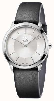 Calvin Klein Balança mínima de prata dos homens K3M221C6