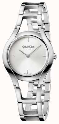 Calvin Klein Classe feminina banhada a prata K6R23126