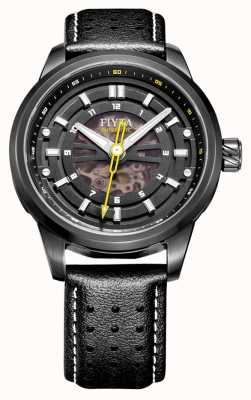 FIYTA Relógio de esqueleto automático clássico WGA8452.BBB