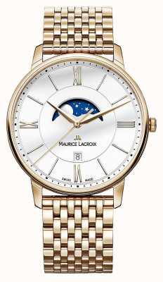 Maurice Lacroix Relógio de ouro para homens eliros dourado EL1108-PVP06-112-1