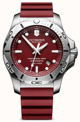 Victorinox Swiss Army Inox profissional mergulhador vermelho 45mm 241736