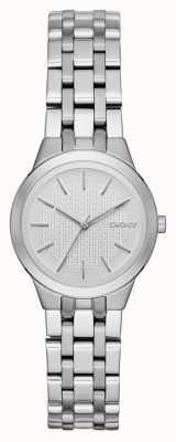 DKNY Park pendente senhoras relógio de prata NY2490