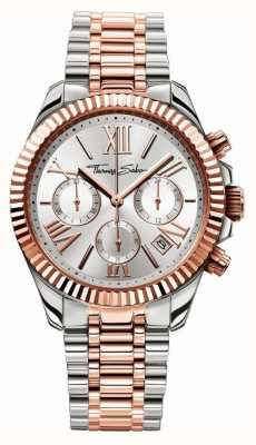 Thomas Sabo Relógio das mulheres divina crono WA0221-272-201-38